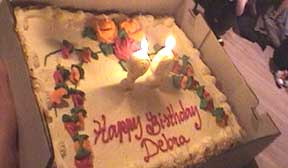 Debras Cake Photo Credit Ronnie Weinstein Serving The