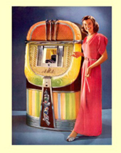 The AMI Model A Jukebox in Better days