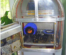 AMI Model C Jukebox -- record changer