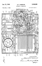 Andrews Patent for the M100 No. 2,458,496