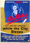 Poster for the film: While the City Sleeps