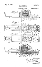 Coin Slide Patent No. 2,212,714