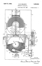 Collison Changer Patent (1930) No. 1,955,534