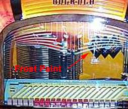 The Rockola Model 1426 Jukebox - Frost Paint