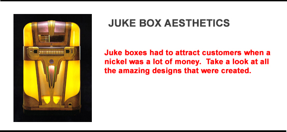 Discussion of Juke Box Aesthetics