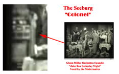 Seeburg Colonel Jukebox in a Soundie for the song Jukebox Saturday Night, Glenn Miller