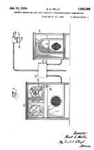 Mills Coin Operated Radio-Phono Patent No. 1,968,499