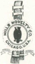 The Mills Novelty Corporate Logo Featuring the Owl