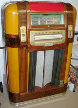 The Mills Throne of Music Jukebox