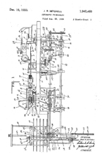 Mitchell Changer (1928) Patent No. 1,840,460