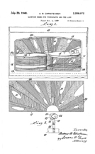 Polarized Light Effect Patent No. 2,209,072, Page 1
