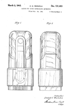 Rock-Ola Commando Jukebox Design Patent D-131,483