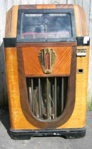 The Rock-Ola Monarch Jukebox, Front View