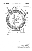 Electromechanical Jukebox Selector Patent No. 2,319,945