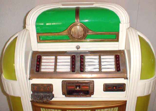 Seeburg Colonel Jukebox -- selector