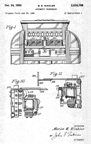 Patent for the Seeburg Commander Jukebox, No.2,526,788