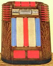 Seeburg Concert Grand Jukebox, catalog Photo