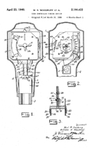 Seeburg Parking Meter Patent No. 2,198,422
