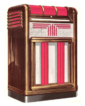 Seeburg Universal Cabinet Jukebox