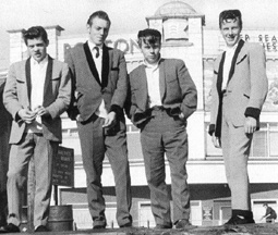 Teddy Boys Mid 1950s
