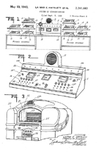 Wurlitzer Telephone Jukebox Scheme, Patent No. 2,241,663
