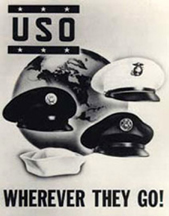 World War II USO Poster