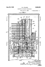 Wilcox Movable Tone Arm Changer Patent No. 2,005,923