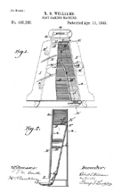 Williams 1898 Game Patent No. 495,285