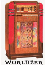 The Wurlitzer Model 500 Jukebox
