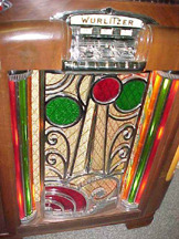 Wurlitzer Model 700 Jukebox - Detail of Grille