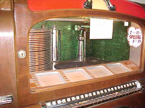 Wurlitzer Model 700 Jukebox - Selector Cabinet