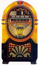 Wurlitzer Model 750 Jukebox - Front