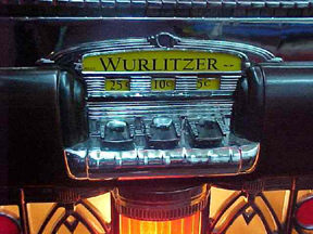 Wurlitzer Model 750 Jukebox - Coin Acceptor