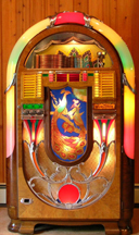 Wurlitzer Model 850 Jukebox - Front
