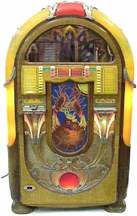 Wurlitzer Model 850 Jukebox - Front,unlit