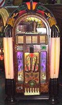 The Wurlitzer Model 950 Jukebox