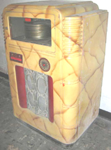 Wurlitzer Model 716 Jukebox As Its, side view