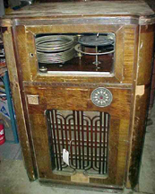 Wurlitzer P12 Jukebox Unrestored Condition