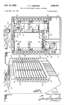 Wurlitzer remote unit Patent No.2,585,401
