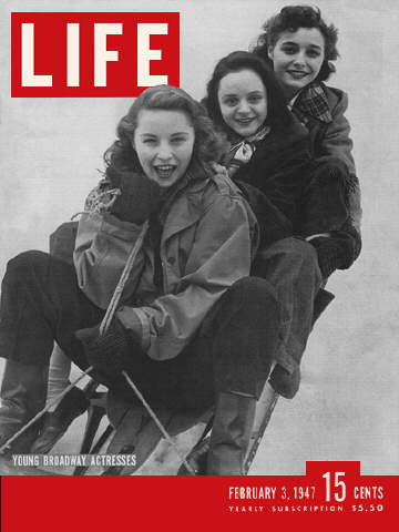 Cover of LIFE magazine