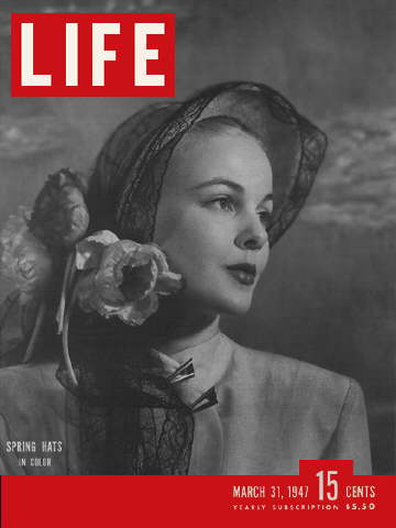 LIFE cover March 31, 1947