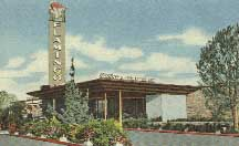 The Flamingo in the 1950s