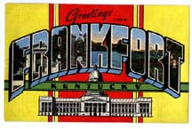 Frankfort Kentucky Postcard