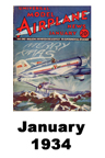 Model Airplane news cover for January of 1934