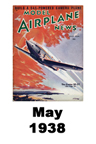 Model Airplane news cover for April of 1938