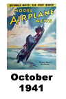 Model Airplane news cover for October of 1941