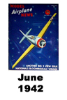 Model Airplane news cover for June of 1942