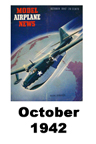 Model Airplane news cover for October of 1942