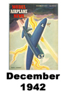 Model Airplane news cover for December of 1942
