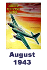 Model Airplane news cover for August of 1943